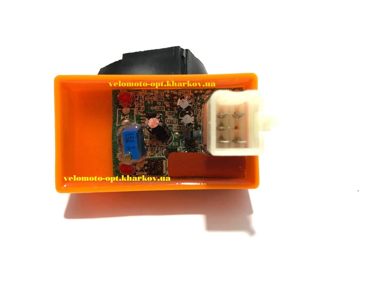 Коммутатор Дельта 4т 70-125 с регулировкой угла зажигания GO
