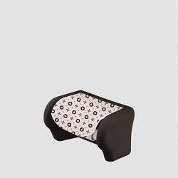 Пластиковий тримач для туалетного паперу Мантія Elif 386
