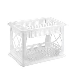 Сушарка для посуду Білий Elif 306