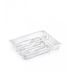 Лоток для столовых приборов Dunya 14006 Прозрачный