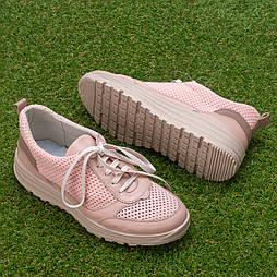 Кроссовки женские сетчатые Tellus 26-23PI Розовые