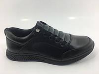 Мужские кожаные спортивные туфли, фото 1