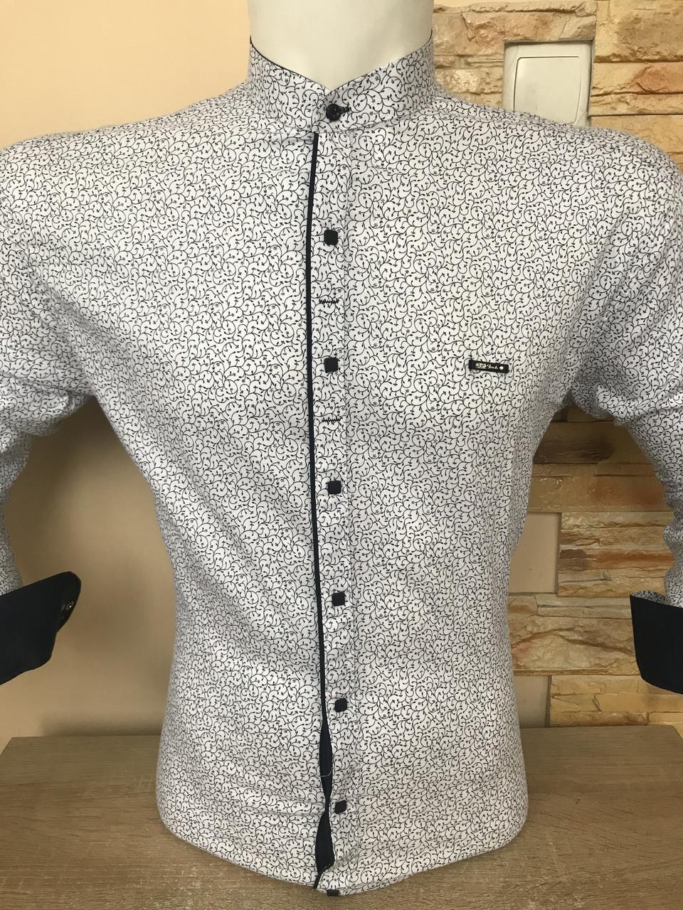 Батальна сорочка Paul Jack, комір-стійка