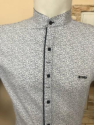 Батальна сорочка Paul Jack, комір-стійка, фото 2