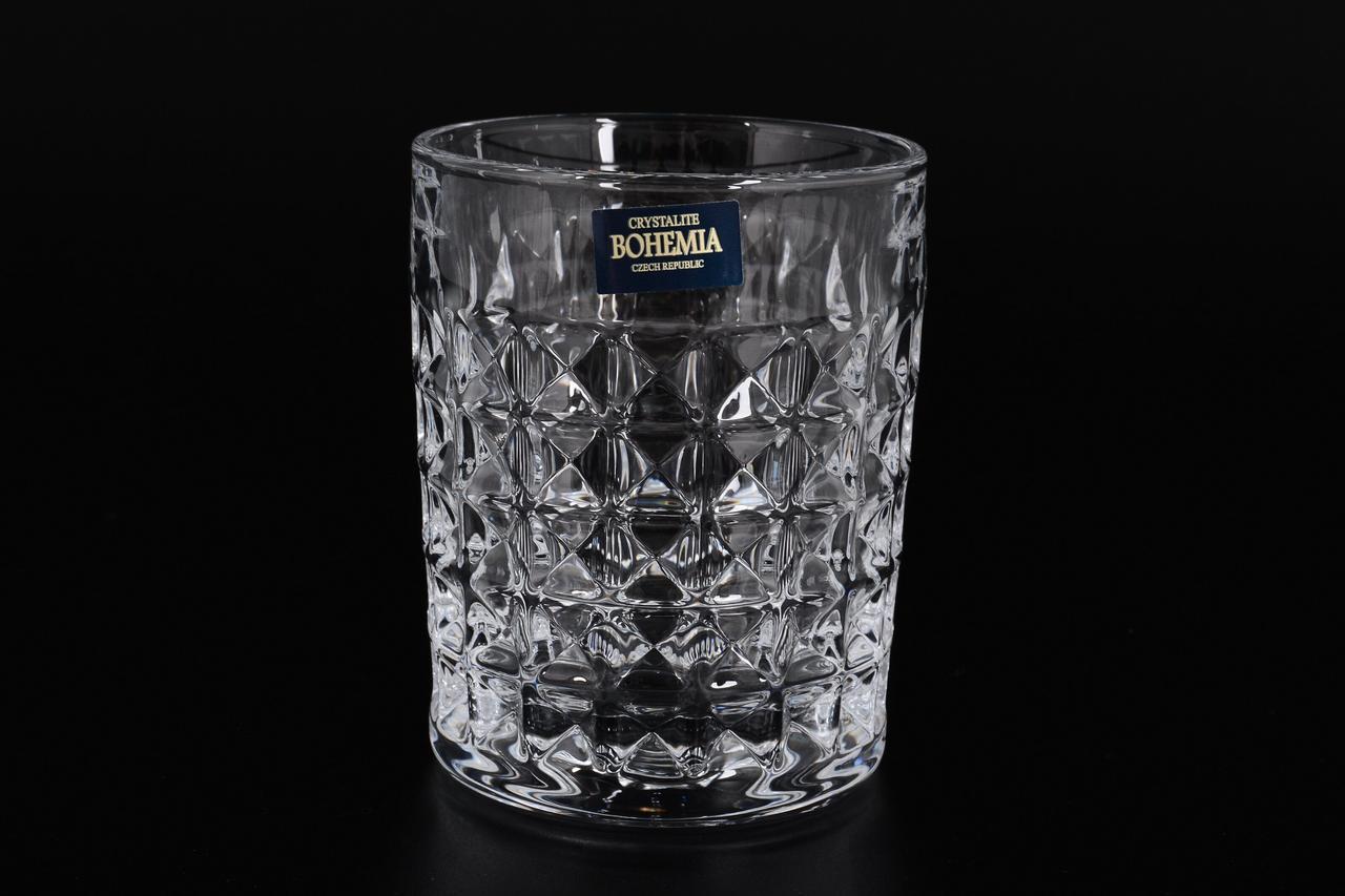Стаканы для виски Bohemia Diamond 230мл 6шт 2KE38-99T41-230