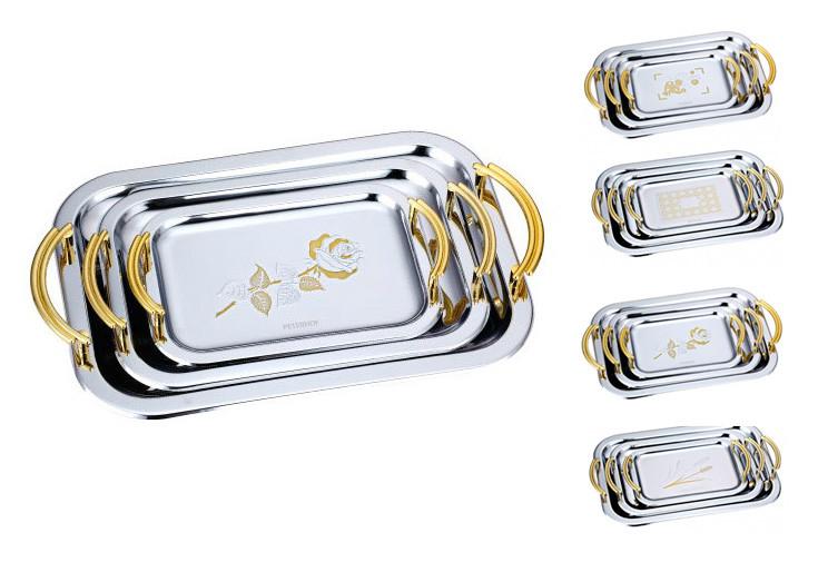 Набор металлических подносов Peterhof  3пр