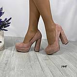 Женские туфли на высоком каблуке 14 см, фото 5