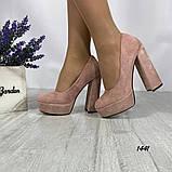 Женские туфли на высоком каблуке 14 см, фото 2