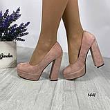 Женские туфли на высоком каблуке 14 см, фото 3