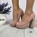 Женские туфли на высоком каблуке 14 см, фото 4