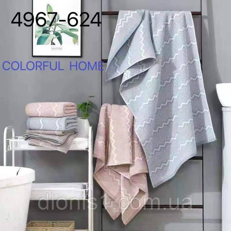 Кухонний рушник Хвиля розмір 35х70 12 шт в уп.