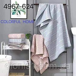 Кухонное полотенце Волна размер 35х70 12 шт в уп.