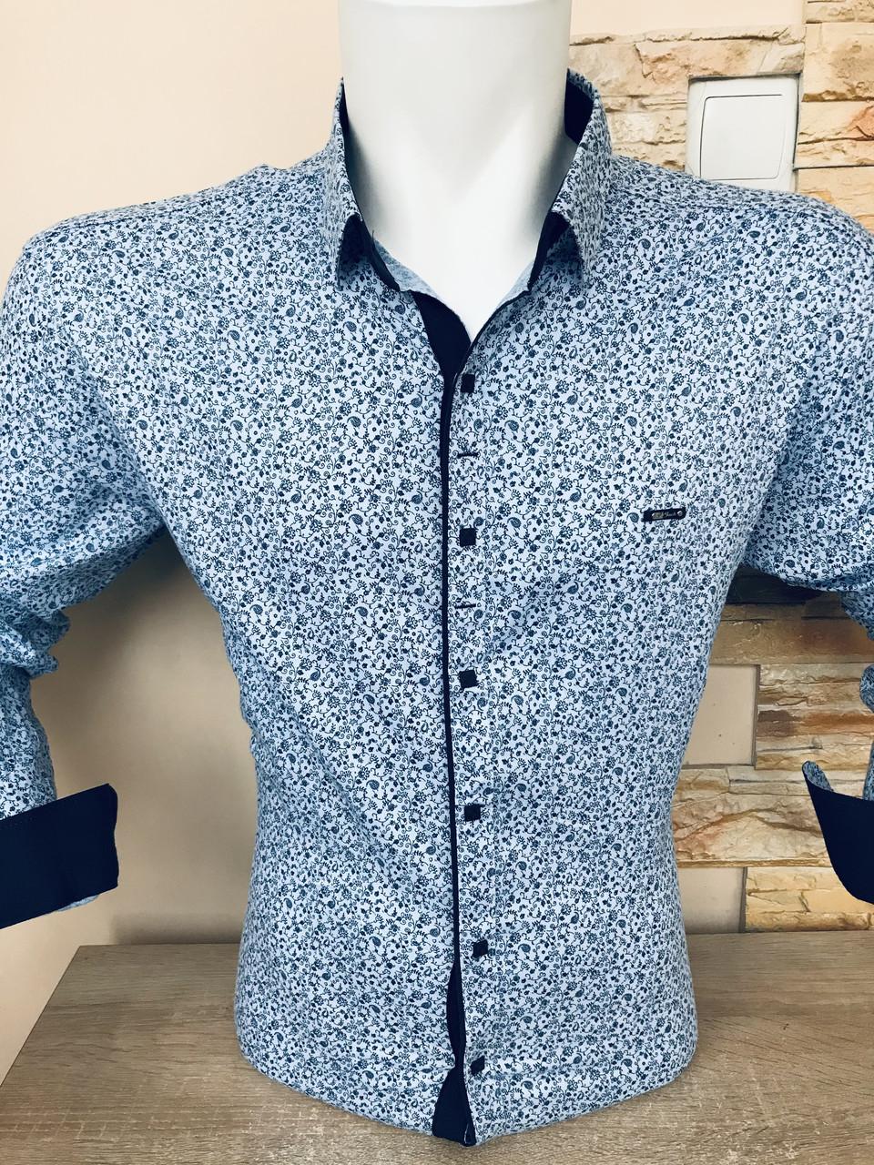 Батальна сорочка Paul Jack з принтом
