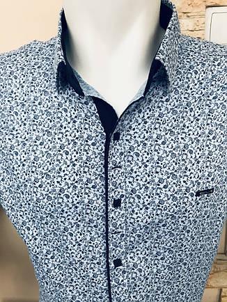 Батальна сорочка Paul Jack з принтом, фото 2