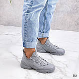 Женские кроссовки Dior D-Connect текстиль и силикон, фото 3