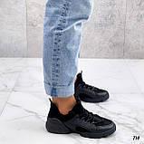 Женские кроссовки Dior D-Connect текстиль и силикон, фото 4