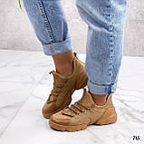 Женские кроссовки Dior D-Connect текстиль и силикон, фото 5