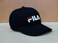 Коттоновая кепка в черном цвете