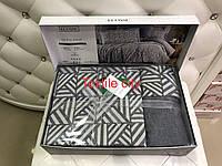Комплект постільної білизни Ecosse Soft Touch Jacquard Smart евро розмір