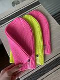Демисезонная яркая детская вязаная неоновая шапочка из 100% мериноса для девочки и мальчика ручной работы., фото 6