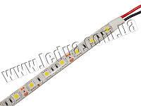 Cвітлодіодна гнучка стрічка 15 діодів 5050-12V білий 25см, фото 1