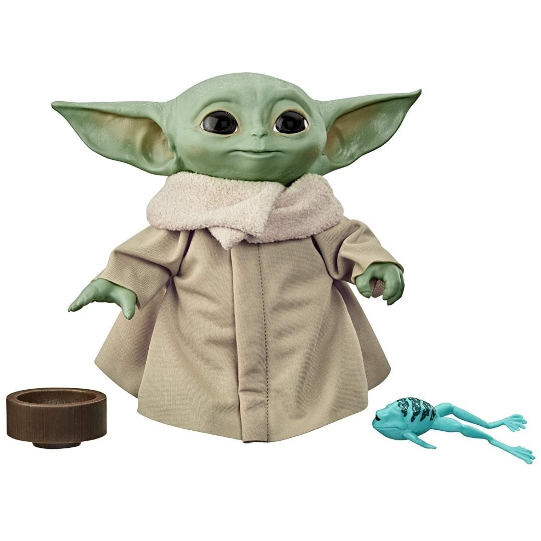 М'яка іграшка Малюк Йода Грогу STAR WARS The Child Talking Plush