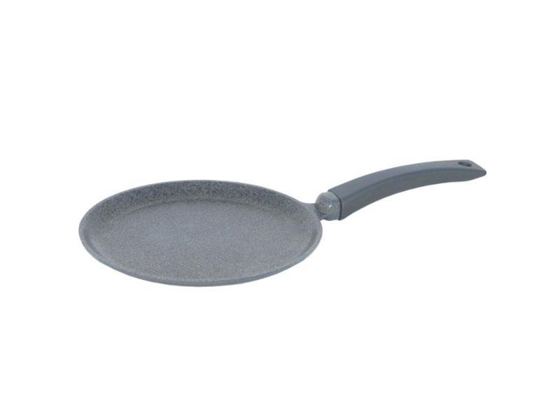Сковорода млинна з гранітним покриттям Біол Граніт Грей 220мм
