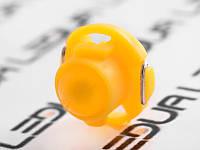 Світлодіодна авто лампа T5-B4.7-COB жовтий 12V, фото 1