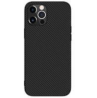 Карбоновый чехол для iPhone 12/ 12 Pro Nillkin Synthetic Fiber