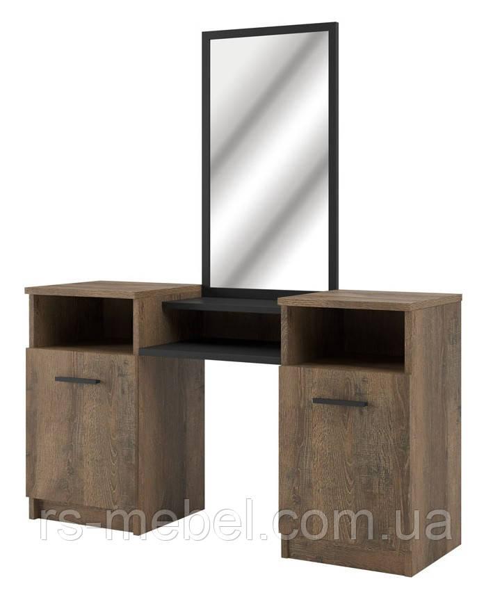 """Туалетний столик """"Лотос-дуб фрегат"""" (Світ Меблів)"""