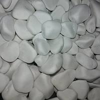 Белая мраморная галька упаковка 3кг