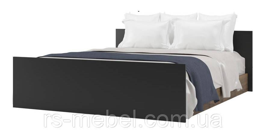 """Ліжко 160 """"Лотос-дуб фрегат"""" (Світ Меблів)"""