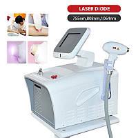 Апарат, діодний лазер для видалення волосся 3 хвилі 755 нм, 808 нм, 1064 нм 900w, Епіляція, 3х хвильовий 2000w
