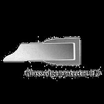 Накладка на торец двери для душевой кабины ( ФС 01 В ) длина 2м. ресница 12 мм., фото 2