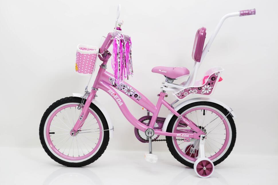 """Детский велосипед Sigma RUEDA 03B R16"""" (Розовый)"""