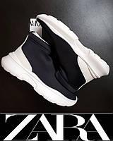 Ботинки спортивные ZARA р.40 на платформе ORIGINAL женские, подростковые
