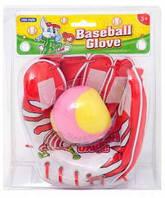 Детская бейсбольная перчатка с мячом 222-3