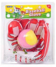 Детская бейсбольная перчатка с мячом 222-3 - Интернет-магазин Лорекс в Львове