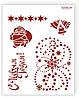 """Трафарет для декупажа Barocci """"Новогоднее настроение"""""""