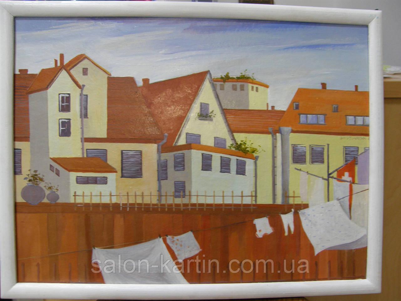 """Картина """"Крыши Швейцарии """""""