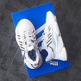 Женские кроссовки Adidas Ozweego White\Black, фото 7