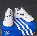 Женские кроссовки Adidas Ozweego White\Black, фото 8