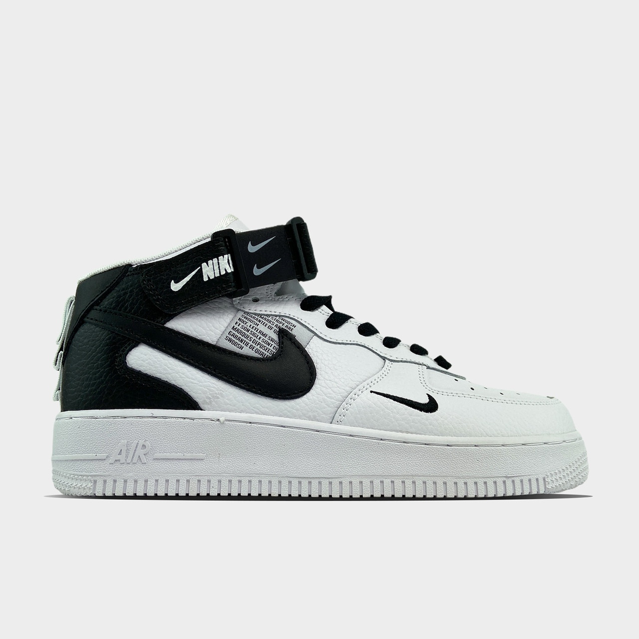 Мужские/ женские кроссовки Nike Air Force 1 High Utility White Black