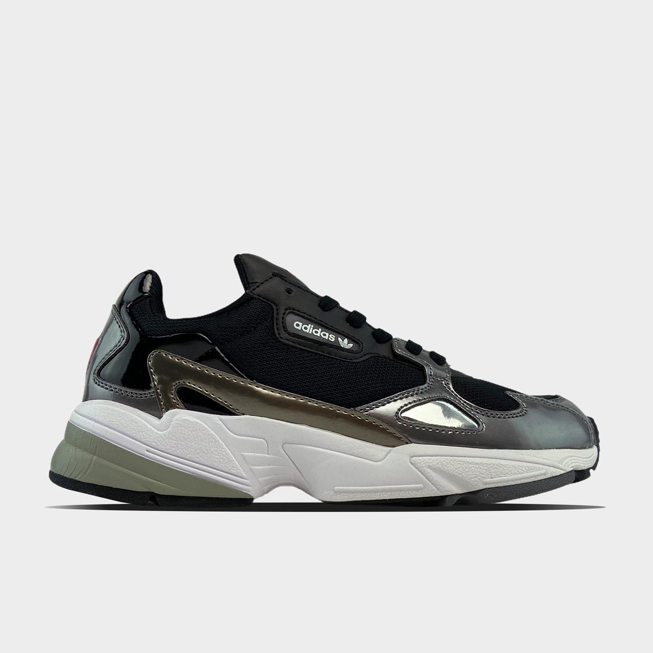 Жіночі кросівки Adidas Black Falcon Lacquered