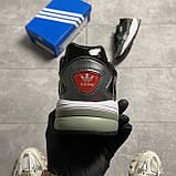 Жіночі кросівки Adidas Black Falcon Lacquered, фото 2