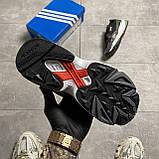 Жіночі кросівки Adidas Black Falcon Lacquered, фото 3