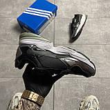 Жіночі кросівки Adidas Black Falcon Lacquered, фото 4