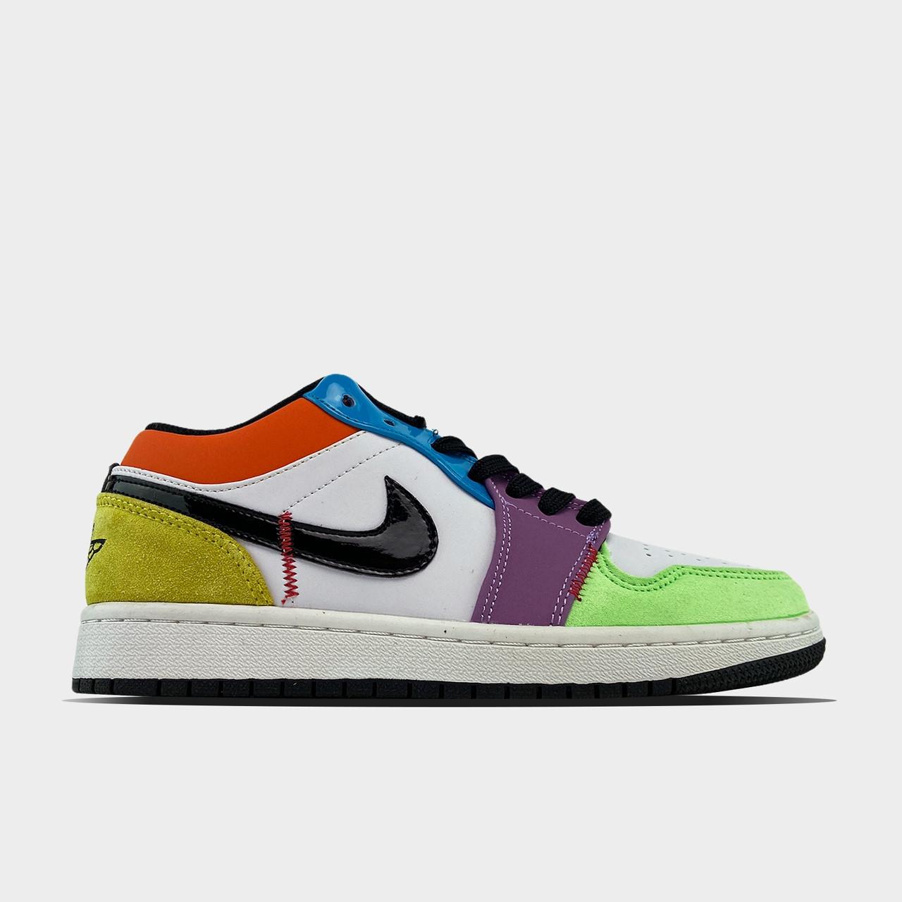 Жіночі кросівки Nike Air Jordan 1 Low Multicolor