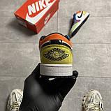 Жіночі кросівки Nike Air Jordan 1 Low Multicolor, фото 2