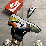 Жіночі кросівки Nike Air Jordan 1 Low Multicolor, фото 4